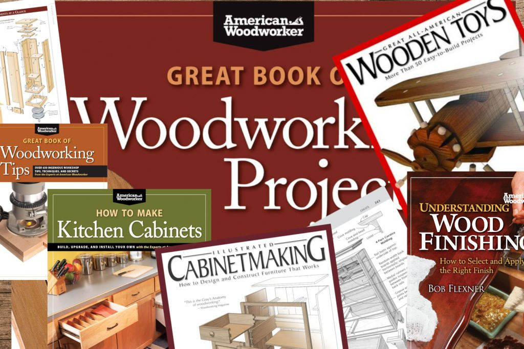 American Woodworker Magazine And Related Books Of